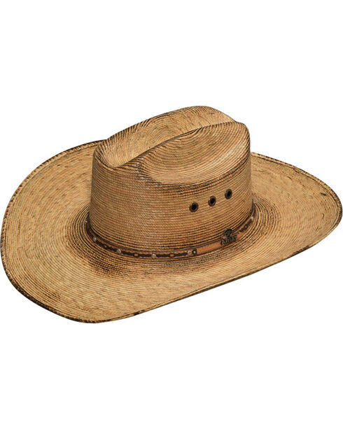 Ariat Men's Dark Brown Fired Palm Hat, Dark Brown, hi-res