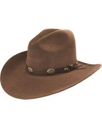 Bailey Western Tombstone Pecan Brown Hat, , hi-res