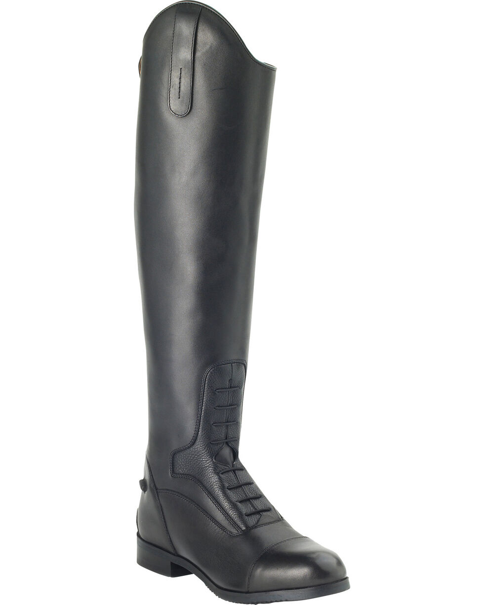 Ovation Women's Flex Sport Field Boots, Black, hi-res