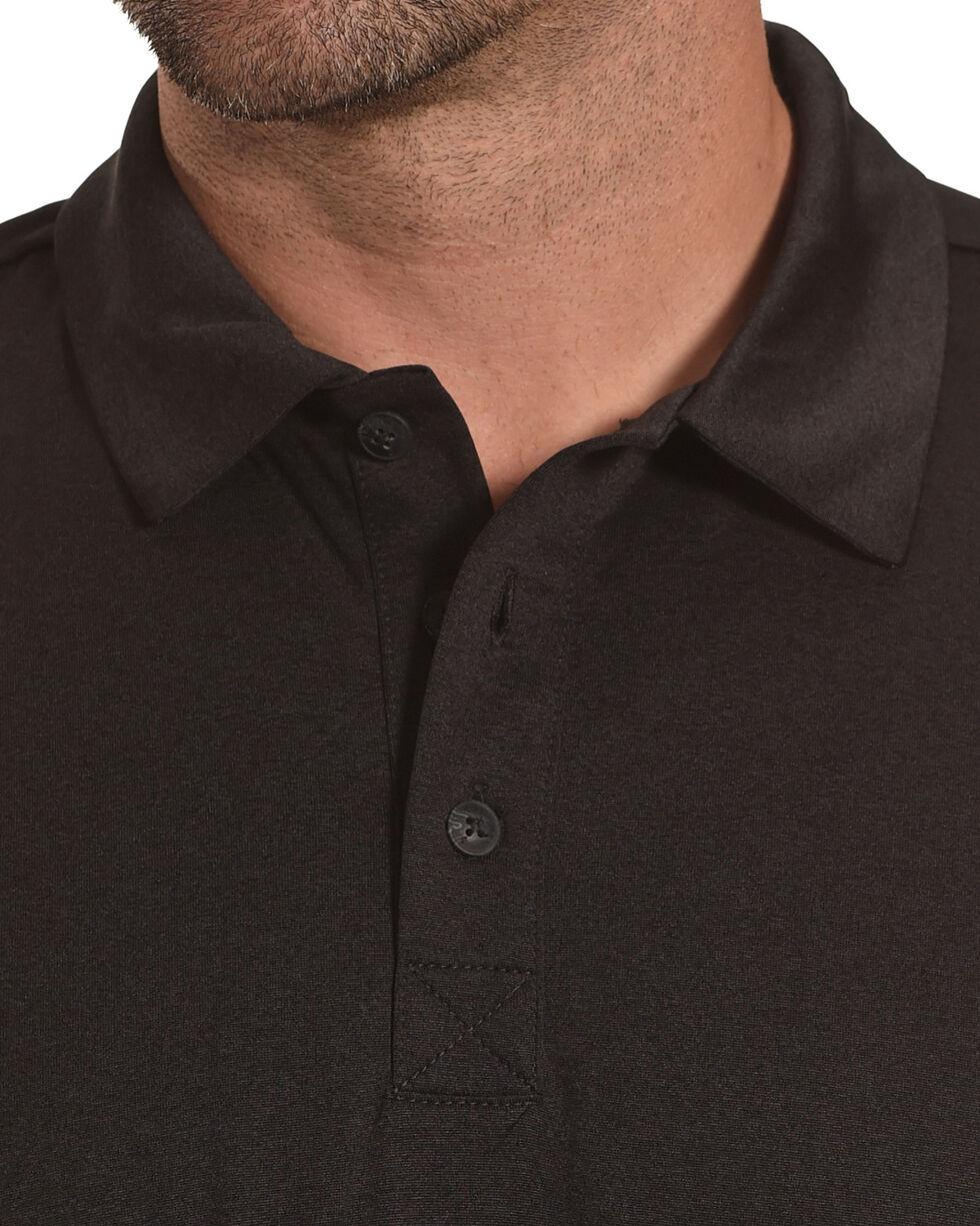 Cody James Men's Tech Short Sleeve Polo, Black, hi-res