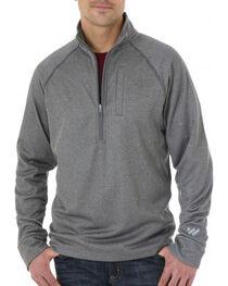 Wrangler Men's Cool Vantage Half Zip Pullover, , hi-res
