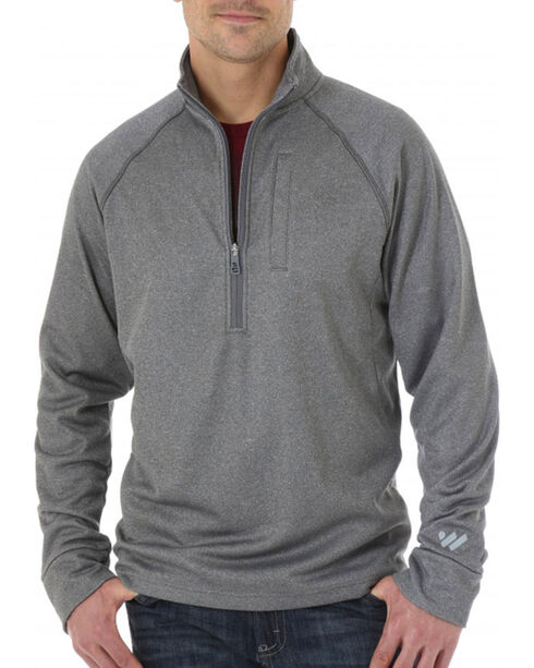 Wrangler Men's Cool Vantage Half Zip Pullover | Boot Barn