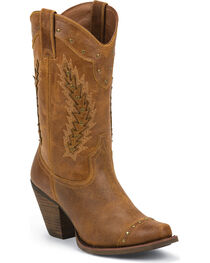 Justin Women's Desert Western Boots, , hi-res