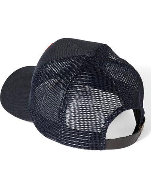 Filson Men's Navy Buckshot Twill Mesh Hat , Navy, hi-res
