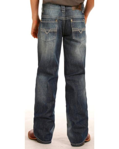 Rock & Roll Cowboy Boys' BB Gun Regular Fit Jean, Indigo, hi-res