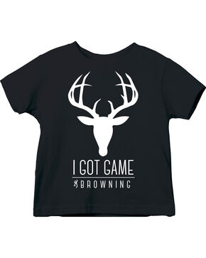 Browning Toddler Boys' Got Game Tee, Black, hi-res
