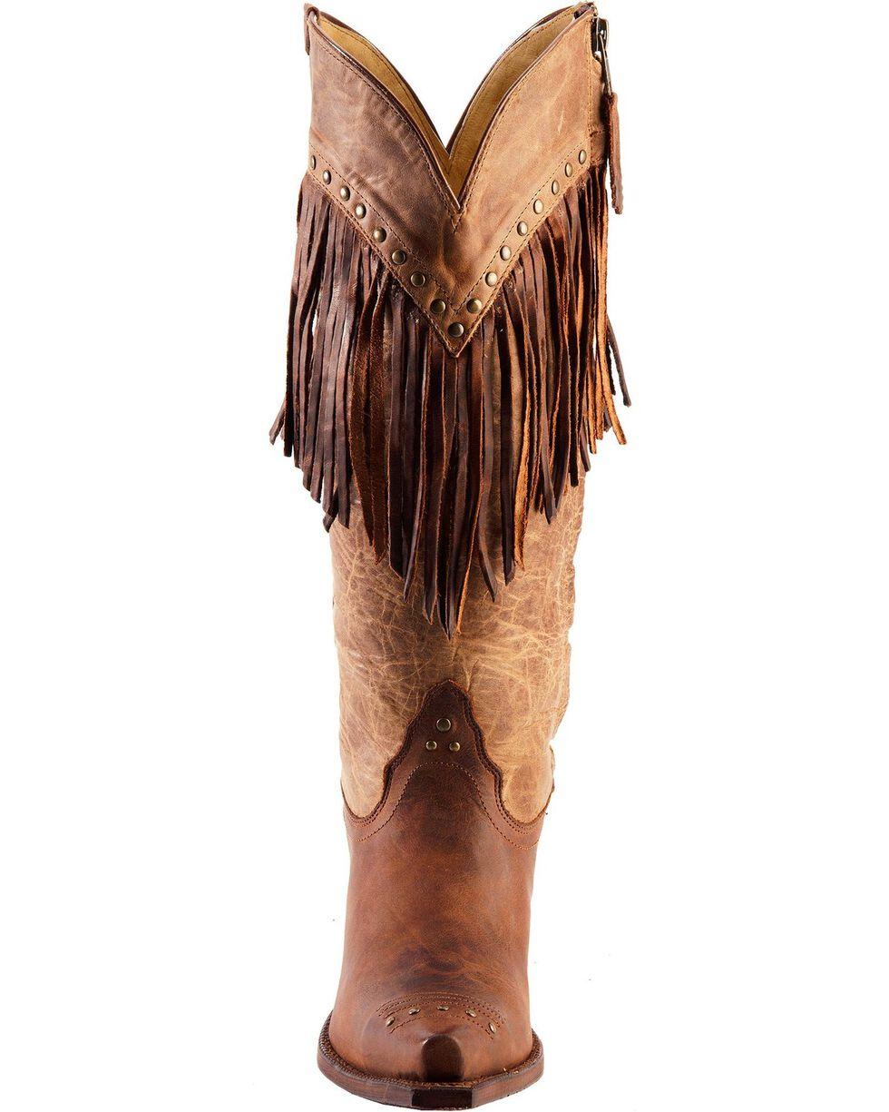 Tony Lama Women's 100% Vaquero Western Boots, Brown, hi-res