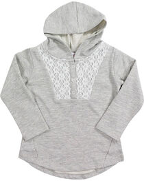 Shyanne® Toddler Girls' Lurex Lace Hoodie, , hi-res