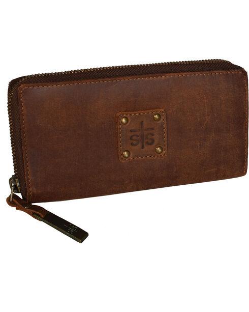 STS Ranchwear Women's Baroness Bi-Fold Wallet , Brown, hi-res
