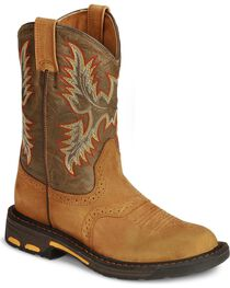 Ariat Kid's Workhog Work Boots, , hi-res