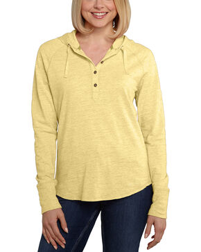 Carhartt Women's Coleharbor Hoodie , Yellow, hi-res