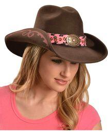 Bullhide Women's Annie Oakley Wool Hat, , hi-res