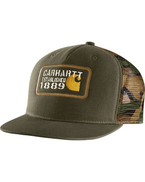Carhartt Men's Camo Gaines Cap, Multi, hi-res