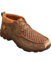 Twisted X Men's Basketweave Hiker Shoes - Moc Toe, , hi-res