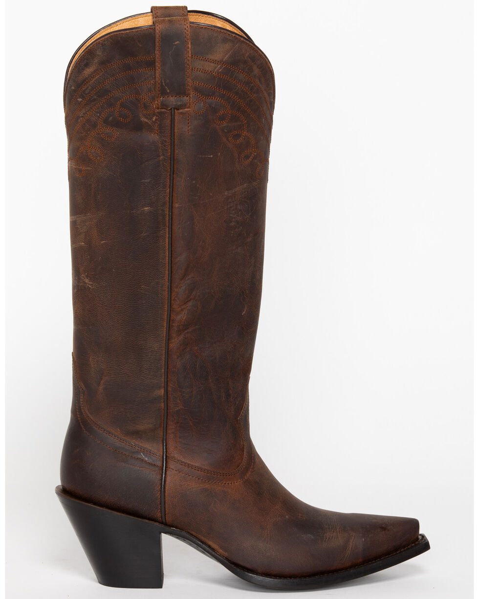 """Shyanne® Women's 15"""" Snip Toe Western Fashion Boots, Brown, hi-res"""