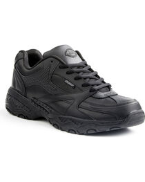 Dickies Women's Slip Resistant Rival Work Shoes, Black, hi-res