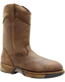 Rocky Men's Steel Toe Wellington Boots, , hi-res