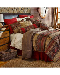 HiEnd Accents 7-Piece King Luxury Chenille Suede Sierra Bedding Set, , hi-res