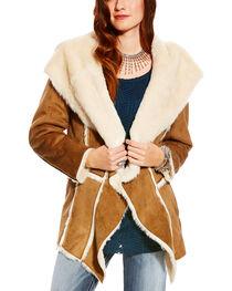 Ariat Women's Faux Fur Trim Nordic Jacket, , hi-res