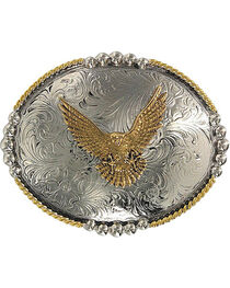 Cody James® Oval Eagle Belt Buckle, , hi-res