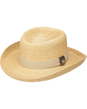 Peter Grimm Santiago Straw Hat, Natural, hi-res