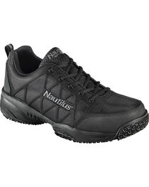 Nautilus Men's Black Athletic Work Shoes - Composite Toe , , hi-res