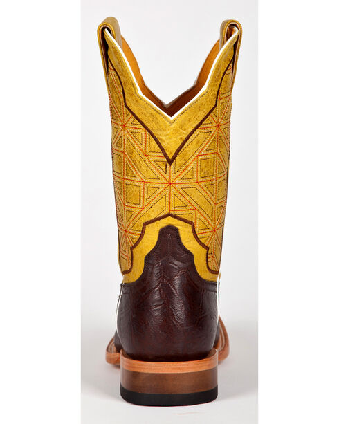 Cinch Men's Geometric Elephant Print Western Boots, Brown, hi-res