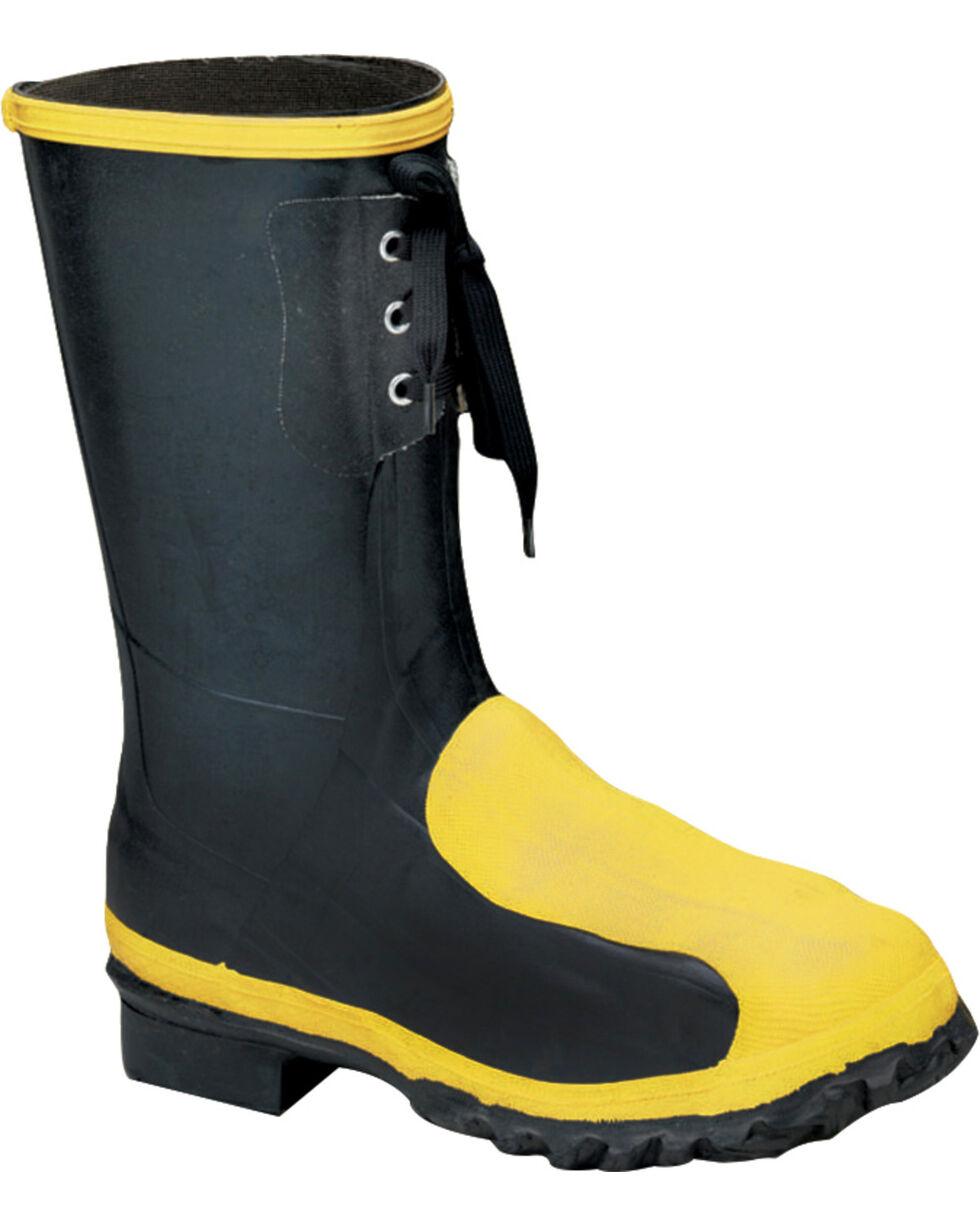 "Lacrosse Men's 12"" Meta-Pac Steel Toe Work Boot, Black, hi-res"
