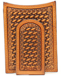 Nocona Basketweave Money Clip, , hi-res