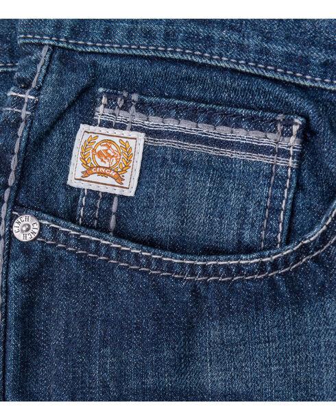 Cinch Men's Indigo August Grant Relaxed Fit Jeans -  Boot Cut, Indigo, hi-res