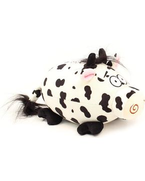 Bigtime Barnyard Football Cow Giggle Mate, Blk/white, hi-res