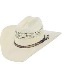 Justin 20X Pueblo Straw Cowboy Hat, , hi-res