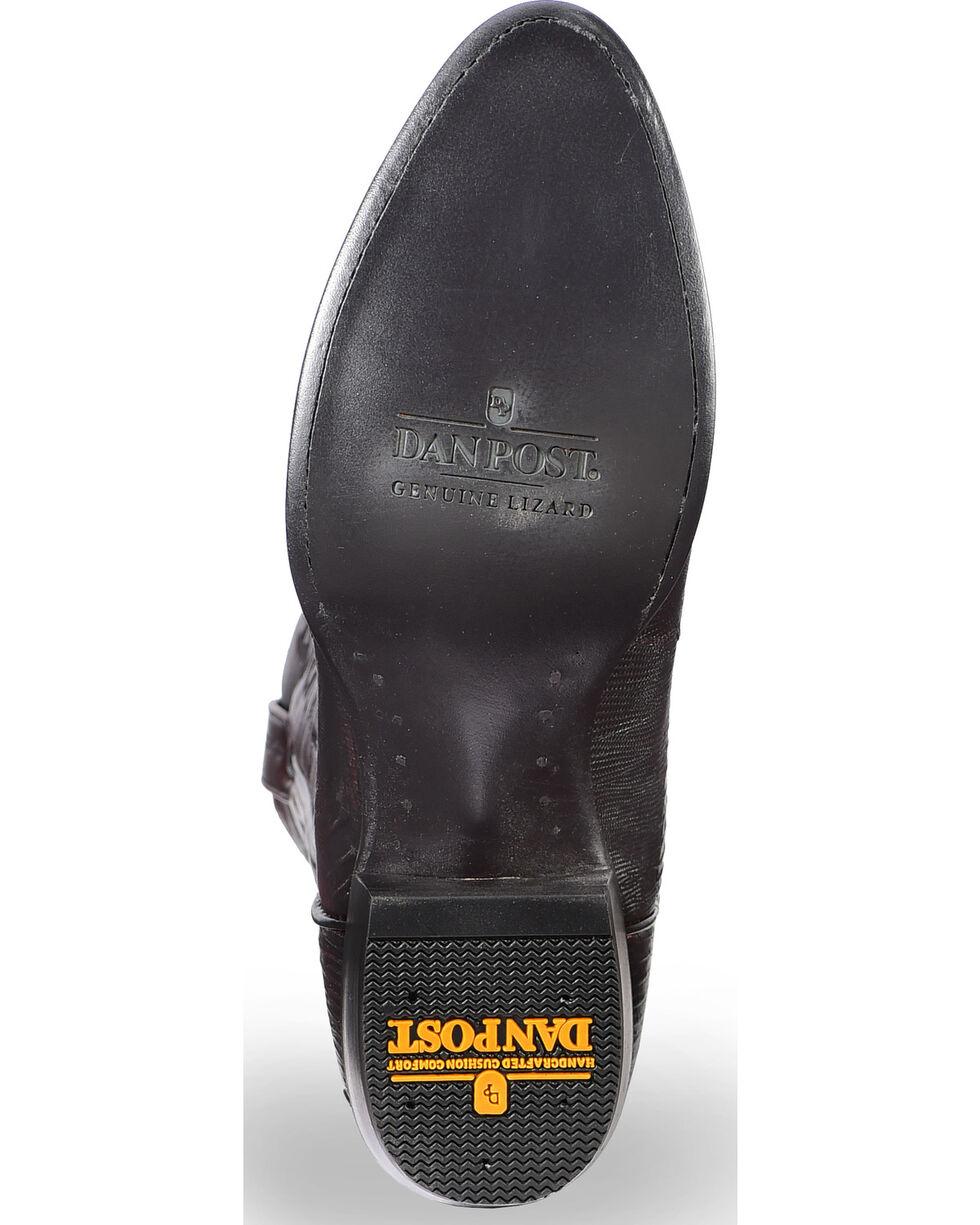 Dan Post Men's Raleigh Teju Lizard Exotic Boots, Black Cherry, hi-res