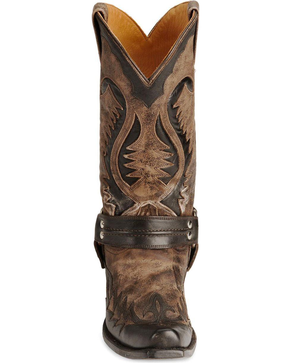 Stetson Men's Bleached Harness Boots, Brown, hi-res