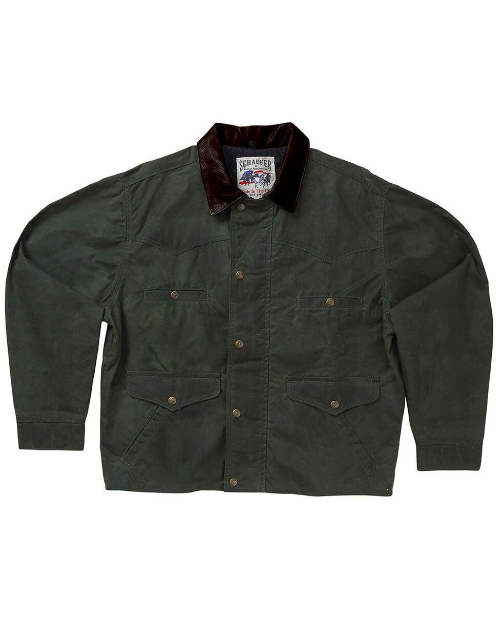 Schaefer Outfitter Men's Loden Rangewax Summit Jacket - 2X, Olive, hi-res
