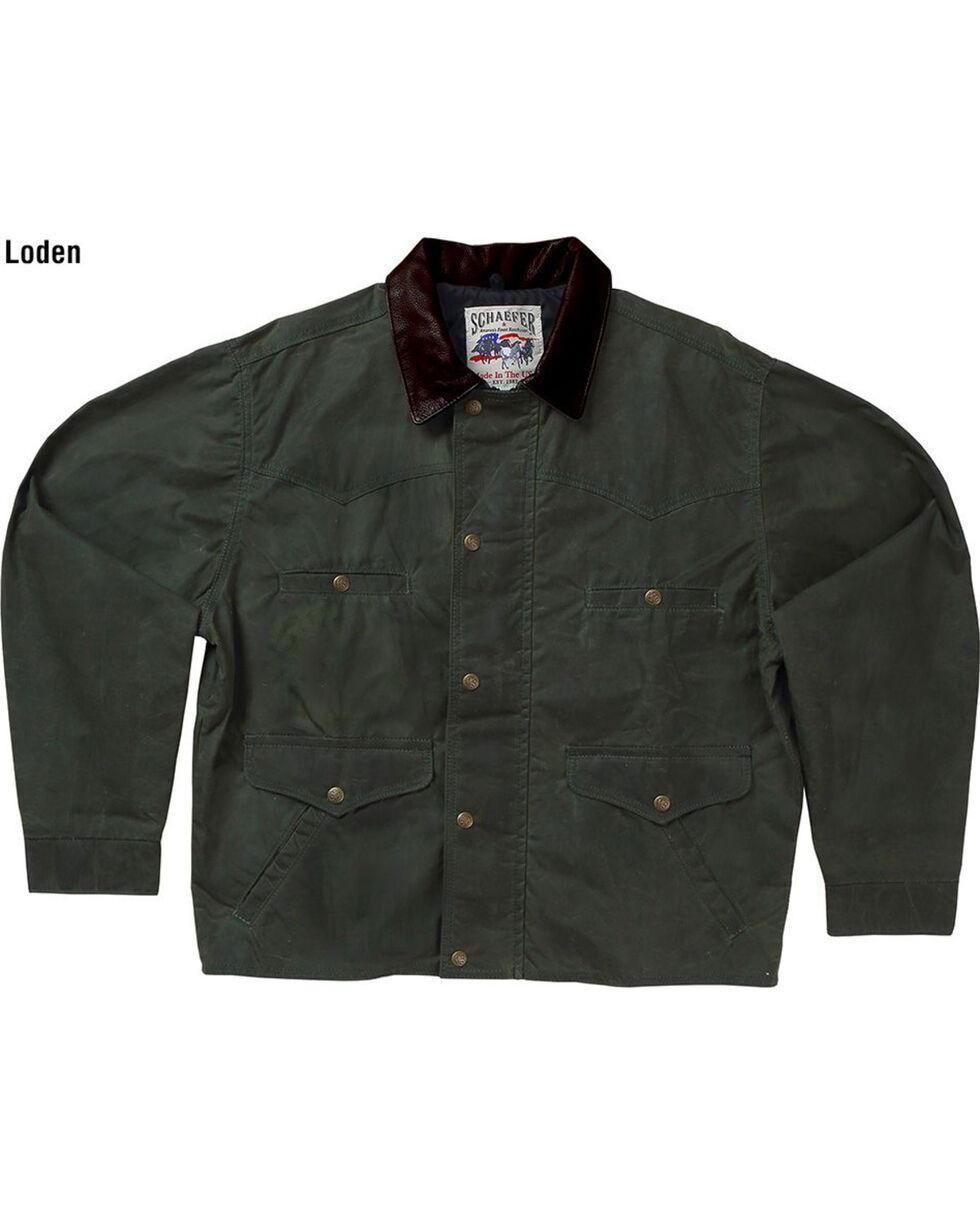 Schaefer Outfitter Men's Loden Rangewax Summit Jacket, Loden, hi-res