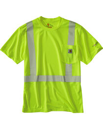 Carhartt Force High-Viz Short Sleeve Class 2 T-Shirt, , hi-res