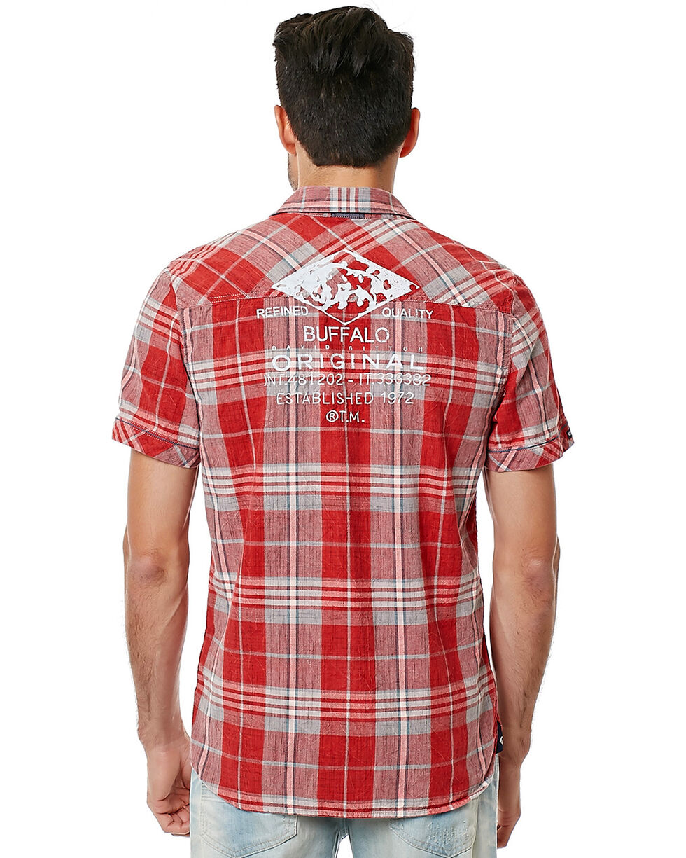 Buffalo David Bitton Men's Siyelp Shirt, Plaid, hi-res