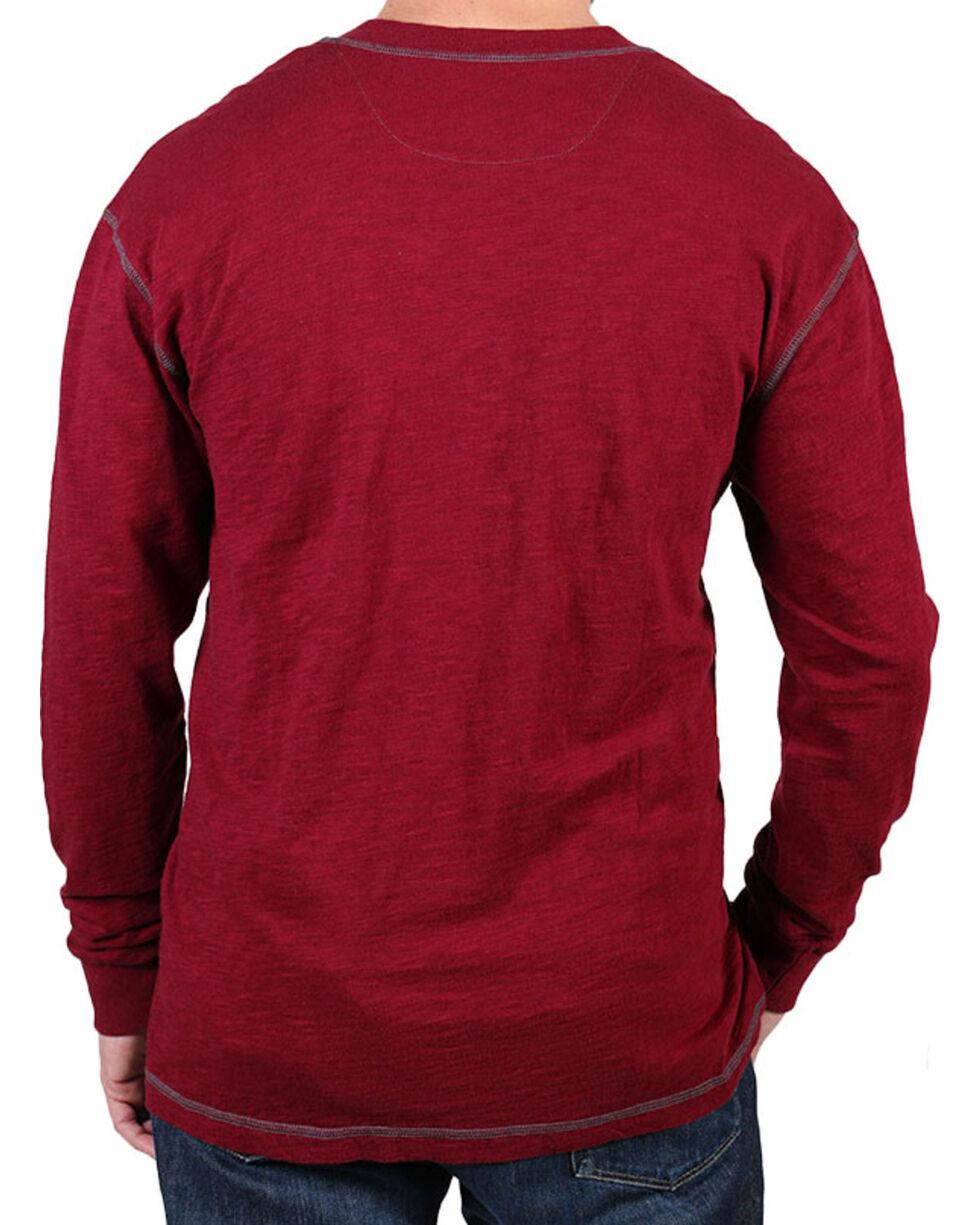 Moonshine Spirit® Men's Solid Long Sleeve Henley, , hi-res