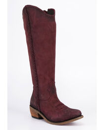 Liberty Black Women's Vegas Tinto Tall Boots - Round Toe , , hi-res