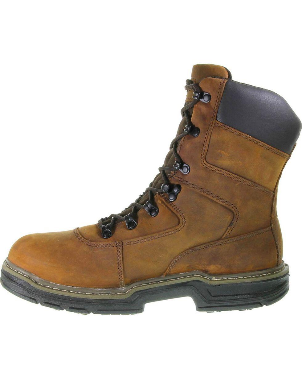 """Wolverine Men's Marauder 8"""" Work Boots, Brown, hi-res"""