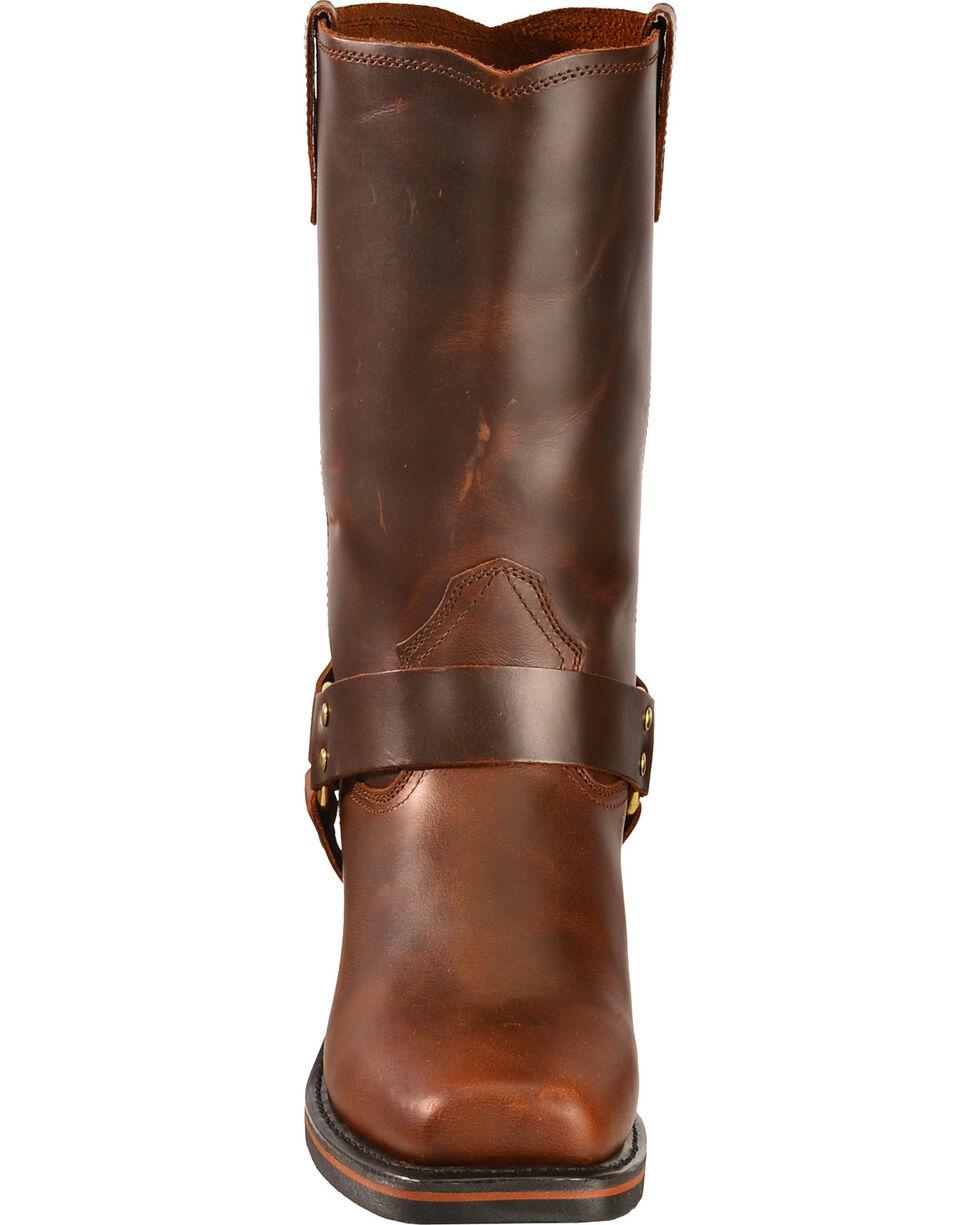 Dingo Men's Dean Harness Motorcycle Boots, Mahogany, hi-res