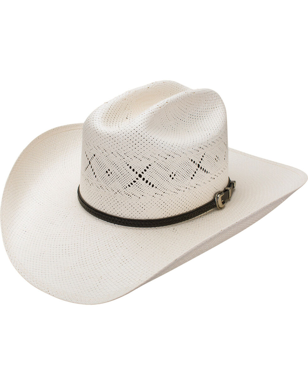Resistol Men's George Strait All My Ex's 20X Straw Hat, Natural, hi-res