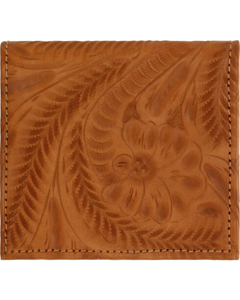 American West Women's Bi-fold Boyfriend Wallet, Golden Tan, hi-res