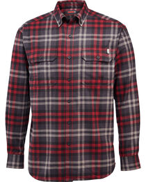 Wolverine Men's Escape Plaid Flannel Shirt, , hi-res