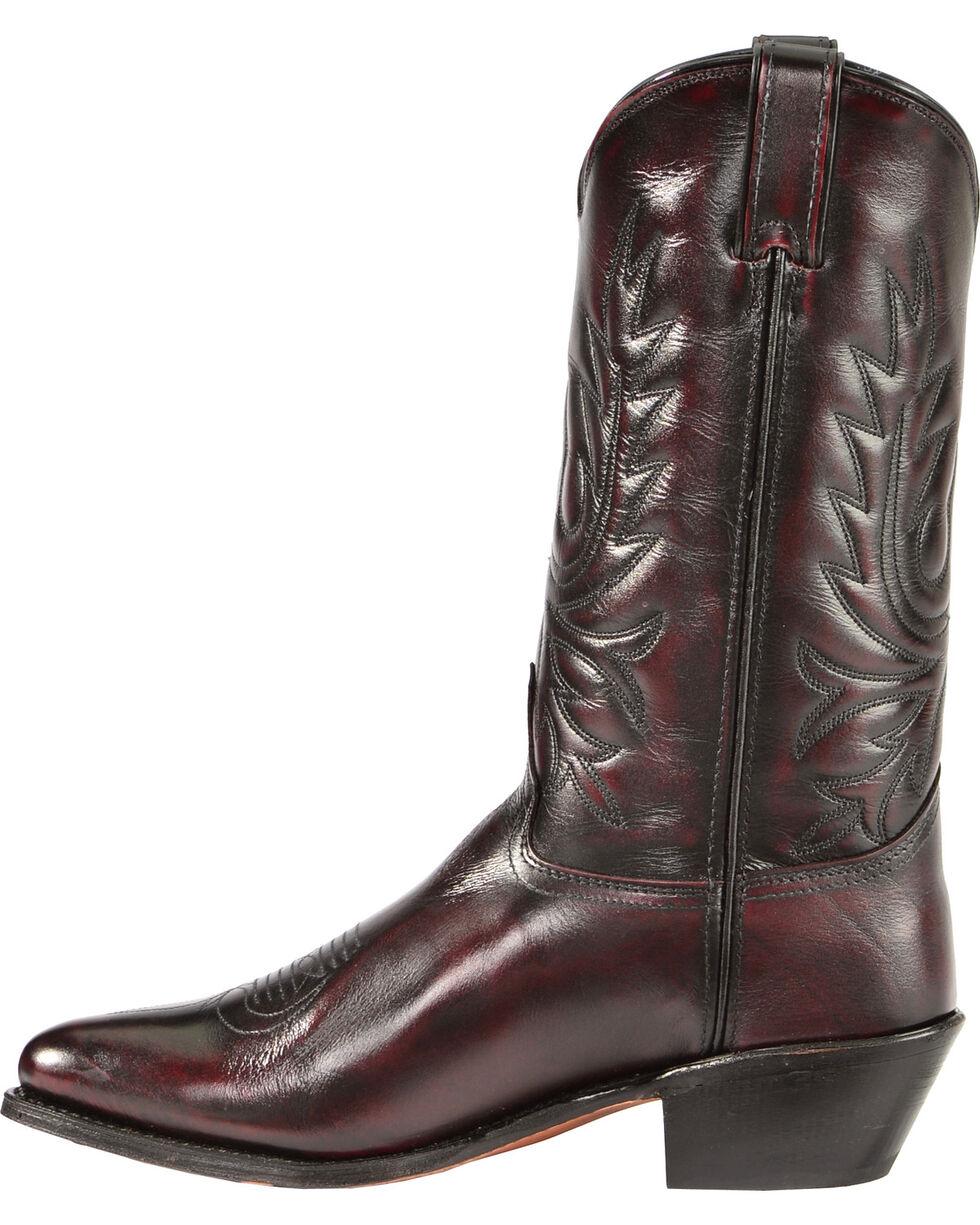 "Abilene Men's 12"" Western Boots, Black Cherry, hi-res"