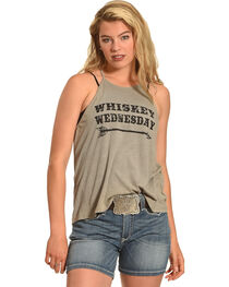 Cowgirl Justice Women's Whiskey Wednesday Tank, , hi-res