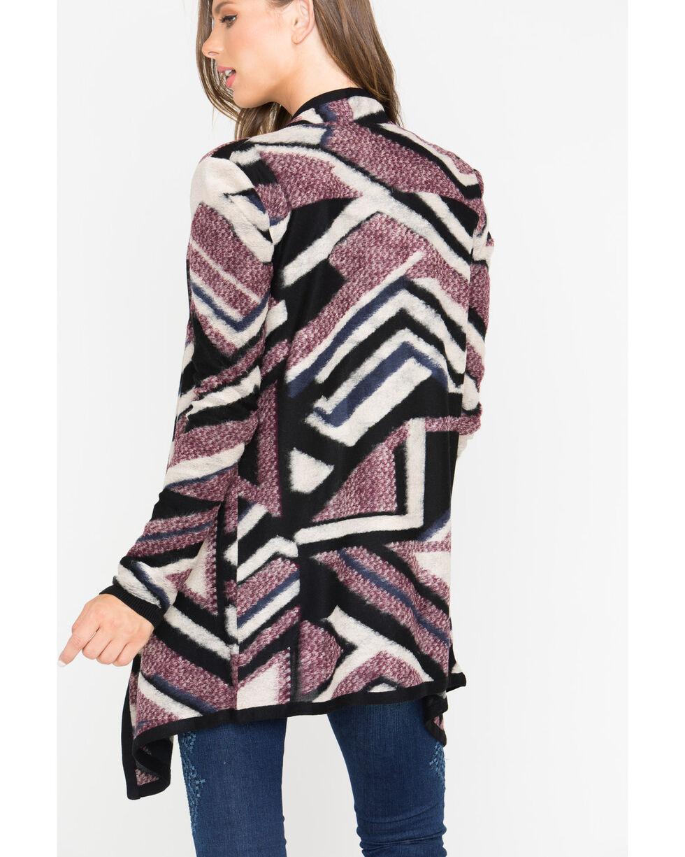 Shyanne® Women's Geometric Sweater, Multi, hi-res