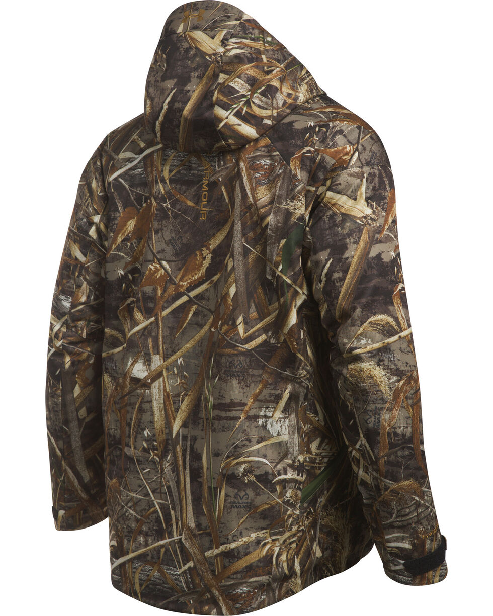 Under Armour Men's Camo Storm Skysweeper Insulated Parka , , hi-res