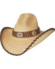 Bullhide Women's Golden Dawn Straw Hat, Tan, hi-res